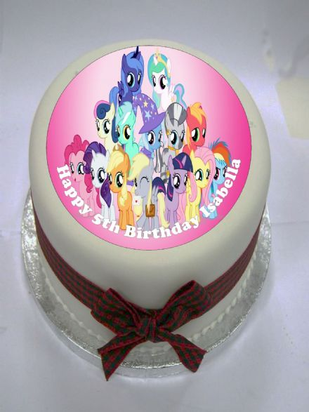 My Little Pony (Pink) Edible Cake Topper